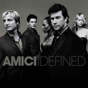 Amici Forever 1st album cover